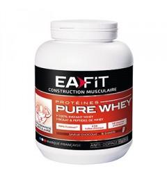 EA FIT Pure Whey Protein Croissance Musculaire Max Chocolat Noir 750g