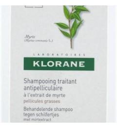 Shampoing Klorane Myrte Pellicules Grasses 200ml pas cher
