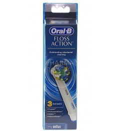 Oral-B Brossettes Floss Action 3 Recharges pas cher