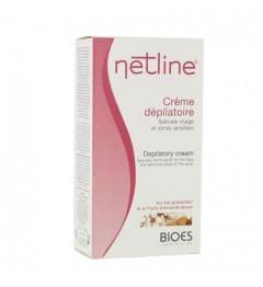 Netline Crème Dépilatoire Visage et Zones Sensibles 75Ml