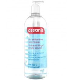 Assanis Gel Antibactérien Mains 980Ml