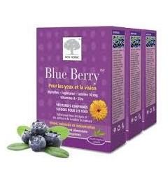 Blue Berry Comprimé Vision Oculaire 3 Boites de 60