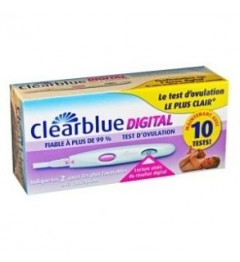 Clearblue Tests D'ovulation Digital Boîte de 10 Tests