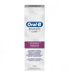 Oral B Dentifrice 3D White Luxe Perfection Blancheur 75Ml