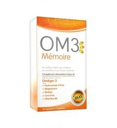 OM3 Mémoire 15 Capsules et 15 Gélules
