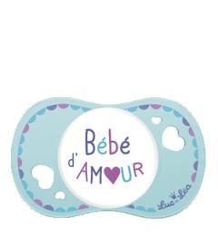 Luc et Léa Sucette 0 à 6 Mois Physio Spécial Allaitement Bébé d'Amour