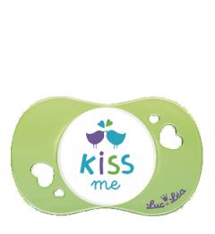 Luc et Léa Sucette plus de 6 Mois Physio Spécial Allaitement Kiss Me