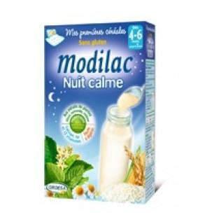 Modilac Premières Céréales Nuit Calme 300 Grammes pas cher