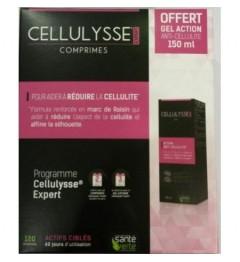Santé Verte Cellulysse 2x60 Comprimés et Gel Offert
