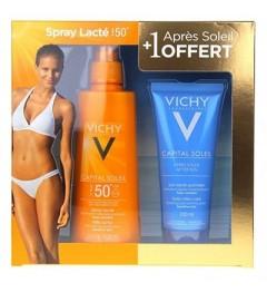 Vichy Capital Solaire Spray SPF50 200Ml et Après Soleil 100Ml Offert