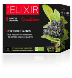Santé Verte Mon Elixir Circulation 15 Ampoules