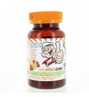 Azinc Popeye Gommes Vitaminées Boite de 60