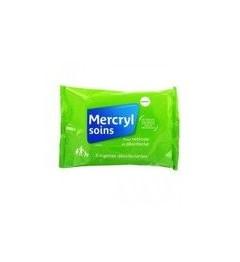 Mercryl Lingettes Antiseptiques Paquet de 5
