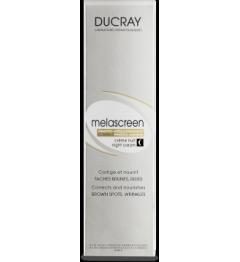 Ducray Melascreen Crème de Nuit Anti Age et Anti taches 50Ml