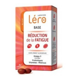Lero Base Réduction de la Fatigue 42 comprimés