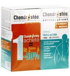 Chondrosteo Lot de 2 Boites de 120 Comprimés