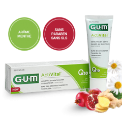 Gum Activital Dentifrice Gel 75Ml