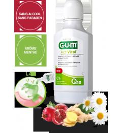 Gum Activital Bain de Bouche 300Ml