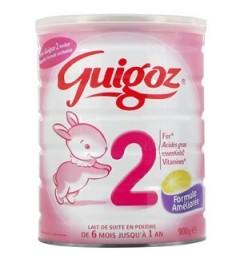 Guigoz Lait 2ème Age de 6 à 12 mois 800 G pas cher