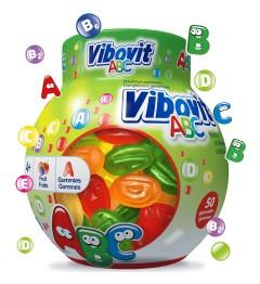 Vibovit Gomme Vitaminée ABC 50 Gommes