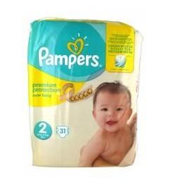 Pampers Couches 3 à 6Kg Pack de 31