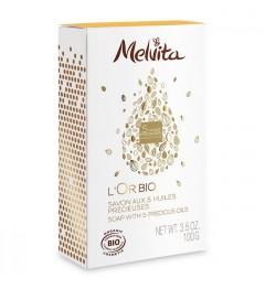 Melvita Savon Premium L'or Bio 100 Grammes