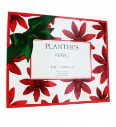 Planter's Coffret Thé Grenade Parfum, Crème de Douche et Crème Corps
