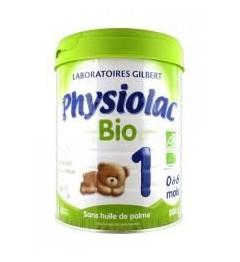 Physiolac Lait Bio 1er Age 800 Grammes