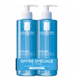 La Roche Posay Effaclar Gel Moussant Purifiant 2x400ml