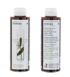 Korres Shampooing 250Ml Anti Pelliculaire et Cuir Chevelu Sec