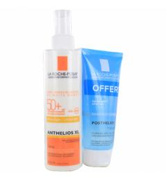 La Roche Posay Anthelios Spray avec Parfum SPF50 200Ml et Posthelios 40Ml Offert