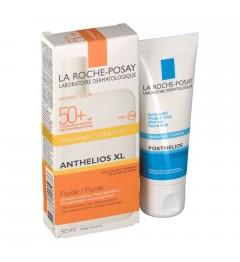 La Roche Posay Anthelios Fluide avec Parfum SPF50 50Ml et Posthelios 40Ml Offert