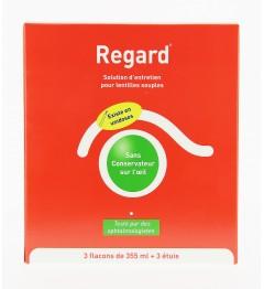 Regard Solution Multifonctions Lentilles 3 Flacons de 355ml pas