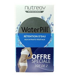 Nutreov Water Pill Retention d'Eau 30 Comprimés Lot de 2