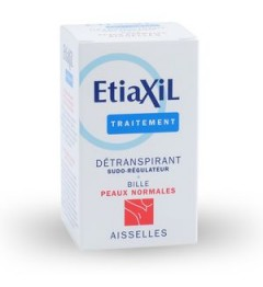 Etiaxil Détranspirant Aisselles Bille Peaux Normales 15ml