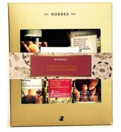Korres Coffret Goyave Lait Corps 200Ml, Crème Main 75Ml et Gel