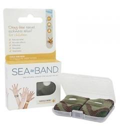Sea Band 2 Bracelets Nausées Enfant Vert