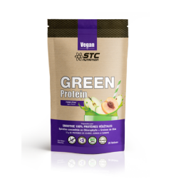 STC Vegan Green Protein Smoothie Pomme Pêche 500 Grammes