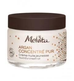 Melvita Argan Concentré Crème Huile Jeunesse 50Ml