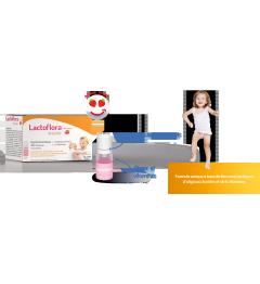 Lactoflora Enfants Fraise 7 Unidoses