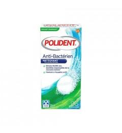 Polident Nettoyant Antibactérien 96 Comprimés
