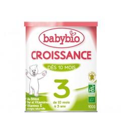 Babybio Croissance Lait dès 10 Mois 900 Grammes