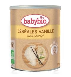Babybio Céréales Vanille dès 6 Mois 220 Grammes