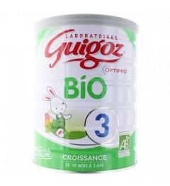 Guigoz Lait Bio 3ème Age + de 12 mois 800 G