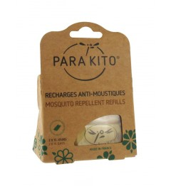 Parakito Plaquette pour Bracelet 2 Recharges