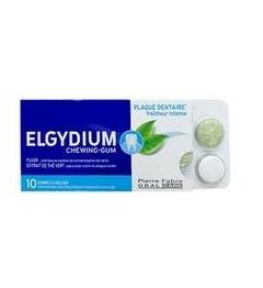 Elgydium Anti Plaque Chewing Gomme 10 Gommes