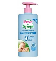 Love And Green Eau Nettoyante Hypoallergénique 750Ml