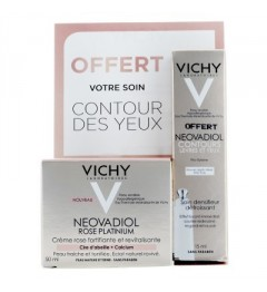 Vichy Neovadiol Rose Platinium 50Ml et Contour des Yeux 15Ml Offert