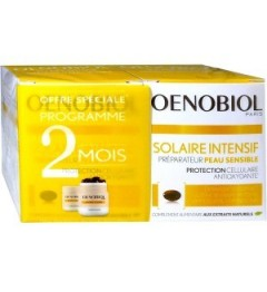 Oenobiol Solaires Intensif Peaux Sensibles 2x30 Capsules