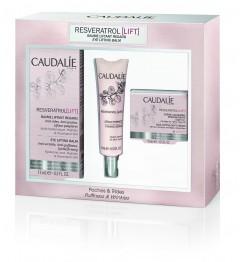 Caudalie Reveratrol Coffret Crème Yeux 15Ml, Sérum 10Ml et Crème 15Ml